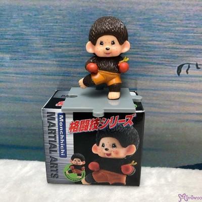 Monchhichi 6cm Mini Figure Fighter 膠公仔 (連底坐) 格鬪技 813510