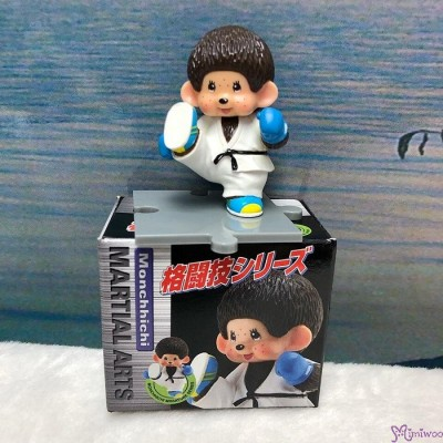 Monchhichi 6cm Mini Figure Fighter Judo 膠公仔 (連底坐) 格鬪技 813520