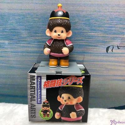 Monchhichi 6cm Mini Figure Fighter 膠公仔 (連底坐) 格鬪技 813550