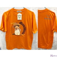 Monchhichi 100% Cotton Fashion Adult Tee Orange M Size 824M-D