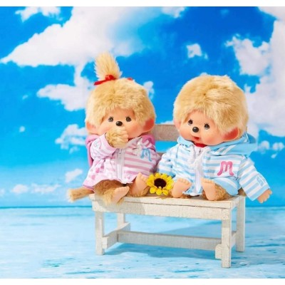 JAPAN Shop Limited SFDS Marin Border Parker Monchhichi M Size Boy & Girl 日本当店限定  837403+837410