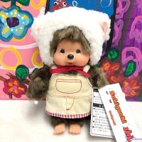 838790 Fluffy CHAMUS Monchhichi S Size Plush Sheep Girl (Limited Version)