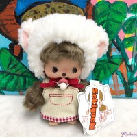 838806 Fluffy CHAMUS Monchhichi Bebichhichi Plush Sheep Girl (Limited Version)