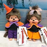 839025+839032 Monchhichi S Size 2020 Halloween 萬聖節 Boy & Girl ~~ 日本当店限定 ~~~