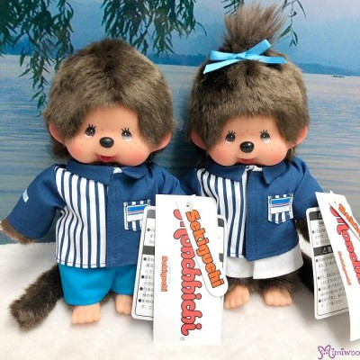 839377+839384  Lawson x Monchhichi S Size Plush Limited ~ Made in Japan ~