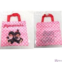 Monchhichi 23 x 23cm Polyester Small Handbag Bag 手袋仔 CAP01-A