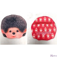 Monchhichi 15 x 15cm Polyester Small Handbag Bag - Big Head Boy 袋仔 CAP01-B