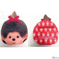 Monchhichi 15 x 15cm Polyester Small Handbag Bag - Big Head Girl 袋仔 CAP01-C