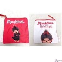 Monchhichi 15 x 16cm Polyester Small Handbag Bag - Big Head Girl 袋仔 CAP01-E