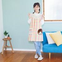 427175 Monchhichi Kitchen Fashion 85cm Apron Pink 大人 長 圍裙