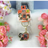 Monchhichi Mascot 3cm Metal Keychain - 東京限定 匙扣 雷門 MC003