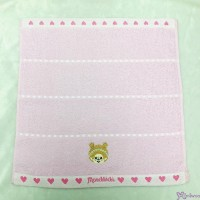 Monchhichi 35 x 34cm 100% Cotton Beach Bath Towel Heart 日本製 毛巾 MC009