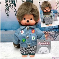 Monchhichi S Size Autumn Fashion Boy Jeans Jacket & Pants 秋冬牛仔系列 MC012