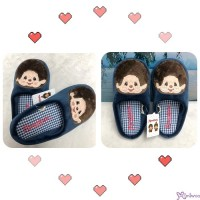 MS42720 Monchhichi Embroidery Slippers 26cm 刺繡 拖鞋
