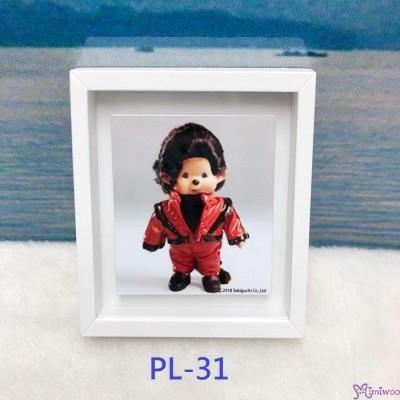 Monchhichi 6 x 5.2cm Magnet Photo 日本製  磁石相架 PL31