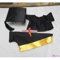 Monchhichi Premium M Size Boy 畢業 公仔 連 自家製 畢業袍 黃色 RX014-YEW+226344