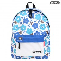 """Monchhichi x Outdoor Backpack Bag Blue Flower 背囊 背包 """"預訂"""" SG131WH"""