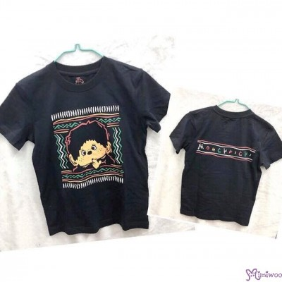 Monchhichi 100% Cotton Fashion Adult Tee XL Size HONG KONG Limited (HK Size) TEEHK-XL