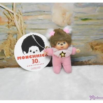Monchhichi 7.5cm Plush Mascot Twinkle Mini Star Cherry 吊飾 TW-CHY