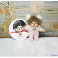 Monchhichi 7.5cm Plush Mascot Twinkle Mini Star PINK 吊飾 TW-PNK