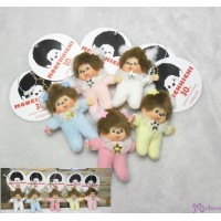 Monchhichi 7.5cm Plush Mascot Twinkle Mini Star Cherry 吊飾 5pcs Set