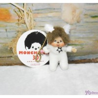 Monchhichi 7.5cm Plush Mascot Twinkle Mini Star White 吊飾 TW-WHE