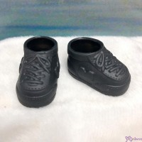 Monchhichi S Size Doll Shoes Sneaker Black 正版 運動鞋仔 XA57-E