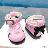 Yo SD OB Male 1/6 Bjd MCC S Size Doll Shoes Butterfly Bow Mary Jane PINK YK09PNK