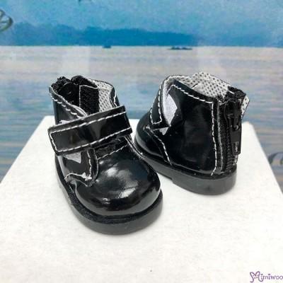 Yo SD OB Male 1/6 Bjd MCC S Size Doll Shoes Short Strapped Boots Black YK10BLK