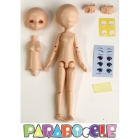 PB-ST-M PARABOcCLE 15cm Full Set Doll with Head and Eye (M Size Head)