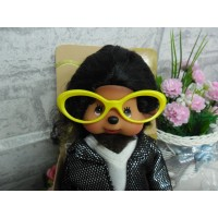 Monchhichi Glasses Frame YELLOW for S & M Size MCC RX001-YEW