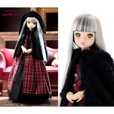 Petworks CCS 27cm Doll Momoko Girl Lop Bunny Ears Vampire Girl 1818091