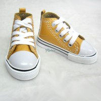 Super Dollfie SD13 Boy Shoes Metallic Sneaker Orange SHB032RAE