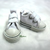 SHH011WHE Hujoo Berry Yomi Obitsu 1/6 Male Denim Shoes White
