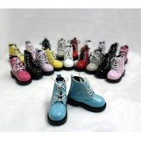 SHM049BLE MSD Bjd Obitsu 60cm Doll Boots High Hill Shoes Blue