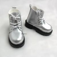 SHM049SLR MSD Bjd Obitsu 60cm Doll Boots High Hill Shoes Silver