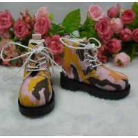 MSD Obitsu 60cm Doll High Hill Shoes Camouflage Pink SHM077PNK