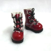 1/6 Bjd Neo B Doll Shoes Boots RED SHP002RED