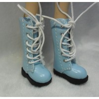 1/6 Bjd Neo B Doll Shoes Long Boots Blue SHP007BLE