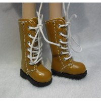 Lati Yellow Blythe Pullip Shoes Long Boots Brown SHP007BRN