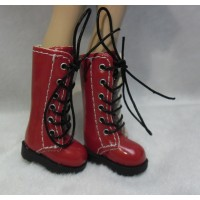 1/6 Bjd Neo B Doll Shoes Long Boots Red SHP007RED