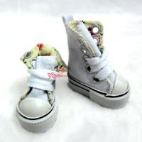 SHP092WHE Obitsu Taeyang Male Hujoo Folded Sneaker Shoes White