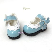 3.3cm Mary Jane Strap Shoes Blue SHP112BLE