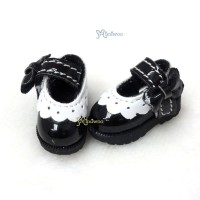 3.3cm Mary Jane Strap Shoes Black SHP112BLK