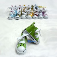 SHS098GRN Super Dollfie SD DD Sneaker PU Leather Shoes Green