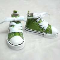 SHS140GRN SD DD bjd Doll Shoes Metallic Sneaker GREEN