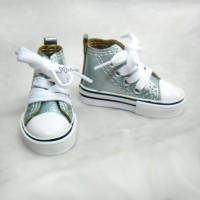 Super Dollfie SD bjd Shoes Metallic Sneaker Lt.GREEN SHS140LGN
