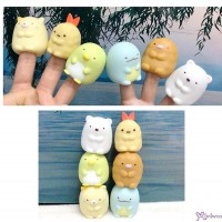 角落生物 手指玩偶 Finger Puppet 6pcs Set (40354+40347+40323+40316+40330+40309)