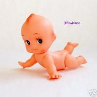 Obitsu Kewpie Baby Crawn 15cm 丘比娃娃 小天使  爬行QP-H150