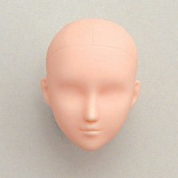 27HD-F02NX1 Obitsu 1/6 27cm Female Body Doll Head  - 02 Natural